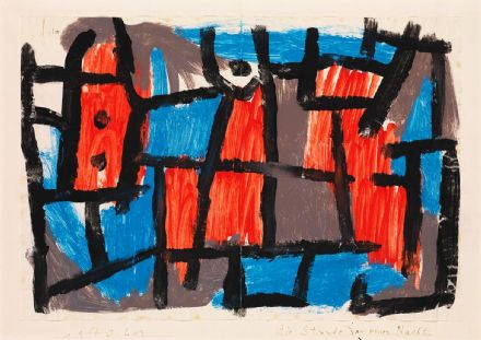 Klee, Paul: The Hour Before One Night. Fine Art Print/Poster (5000)